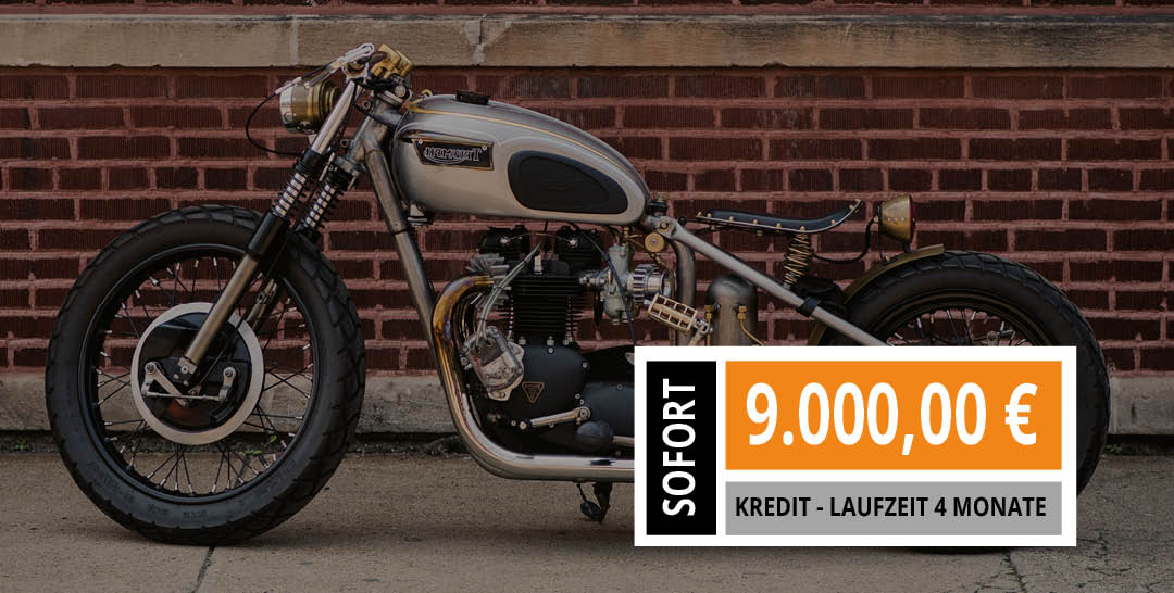 Custom Bike beleihen im Motorrad Pfandhaus